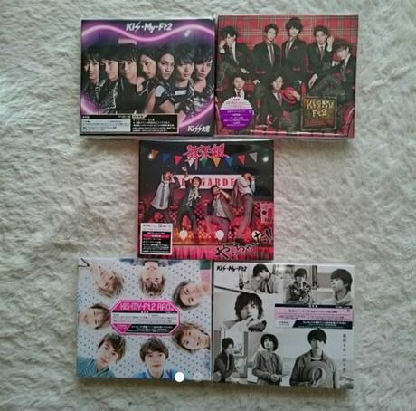 Kis-My-Ft2CD 5枚セット コンサートグッズの画像