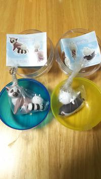 新品2品セット ワオキツネザルとケープペンギン 「うさまるとニフレルの仲間たち」 グッズの画像
