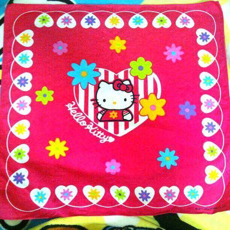 サンリオ  キティ  ナフキン  給食  お弁当 グッズの画像