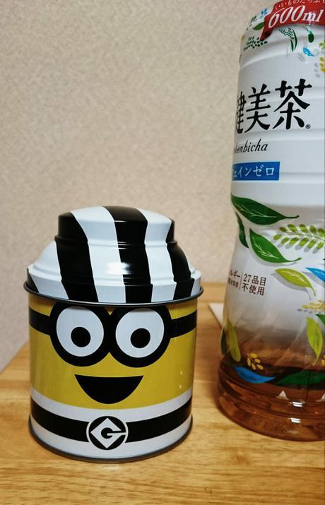 ユニバ ミニオン お菓子缶 缶のみ グッズの画像