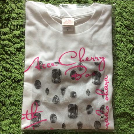 ◆大原櫻子 2017秋ツアー ACCECHERRY BOX Tシャツ 白 M◆ グッズの画像