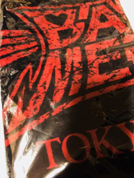 TOKYO DOME MEMORIAL フェイスタオル RED ライブグッズの画像