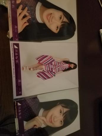 乃木坂46 写真 高山さん 3枚 ライブ・握手会グッズの画像