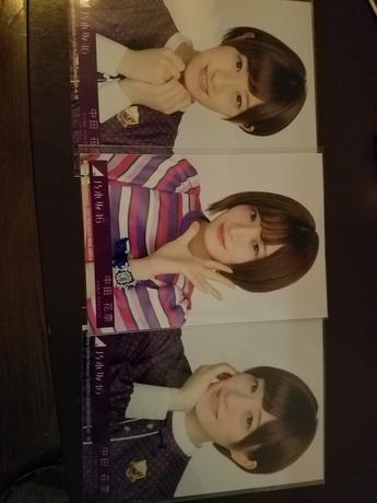 乃木坂46 写真 中田さん 3枚 ライブ・握手会グッズの画像