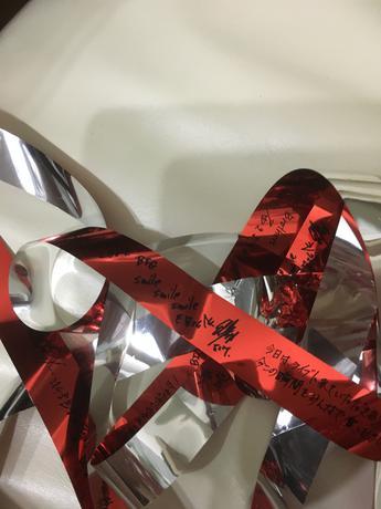 三代目JSB 東京ドーム 銀テープ 10/18 ライブグッズの画像
