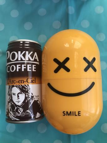 SMILE ツアーグッズ ポッカコーヒー缶+カバー ライブグッズの画像