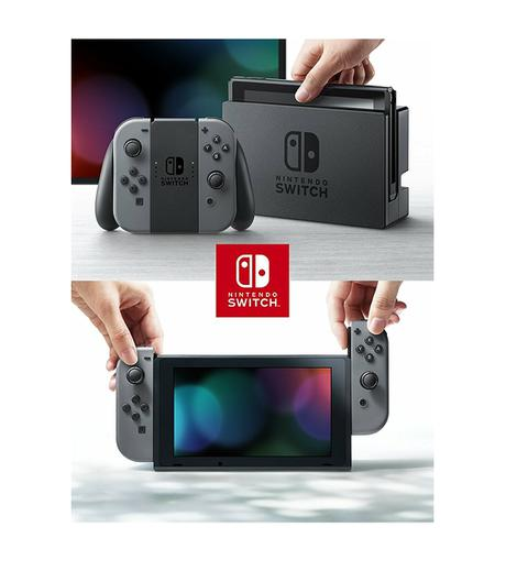 Nintendo Switch (ニンテンドースイッチ) 本体 グレー グッズの画像