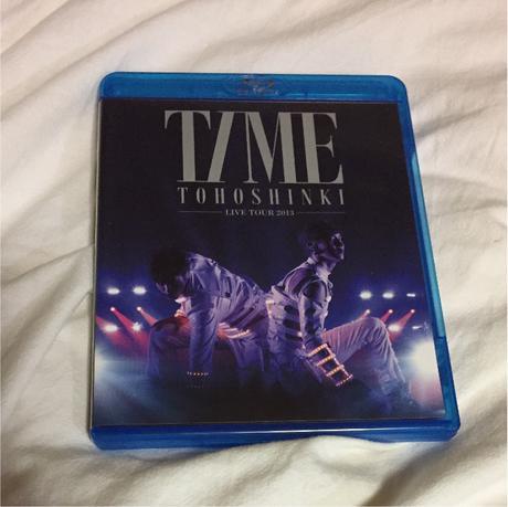 30%以上off【美品】東方神起 2013 TIME 東京ドーム Blu-ray ライブグッズの画像