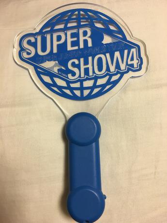 Super Junior ペンライト SUPER SHOW4 ライブグッズの画像
