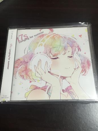 """ナナシスコミケ限定CD """"t7s Longing for summer"""""""