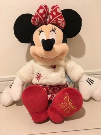 Disney Store 2015 ミニー ぬいぐるみ ディズニーグッズの画像