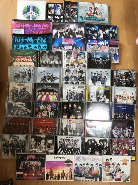 キスマイ DVD CD グッズの画像