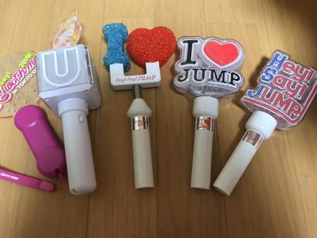 6点 Hey!Say!JUMP ペンライト うちわ グッズの画像