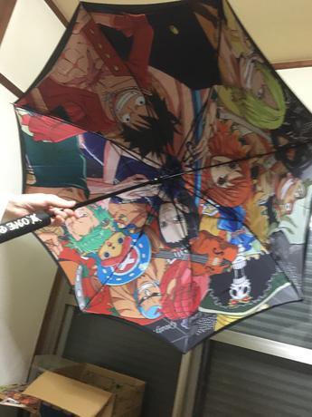ONE-PIECE傘 グッズの画像