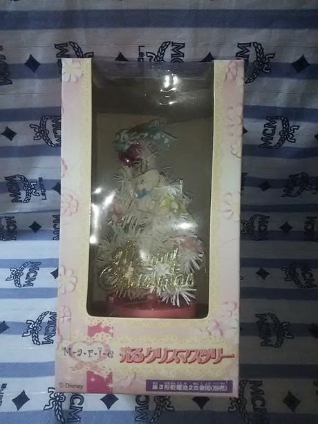 光る  クリスマスツリー  マリーちゃん グッズの画像