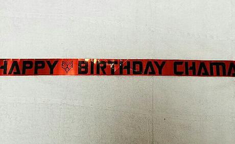 BUMP OF CHICKEN 10/09静岡チャマ誕生日テープ 1カット ライブグッズの画像