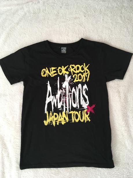 Ambitions JAPAN TOUR Tシャツ ライブグッズの画像