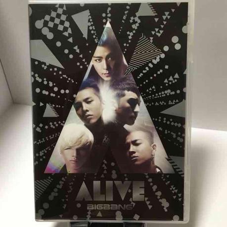 美品◆BIGBANG ALIVE(CD+DVD)◆ ライブグッズの画像