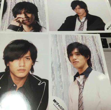 関ジャニ∞ NEWS 錦戸亮 2007 コンサート 写真 ブロマイド リサイタルグッズの画像