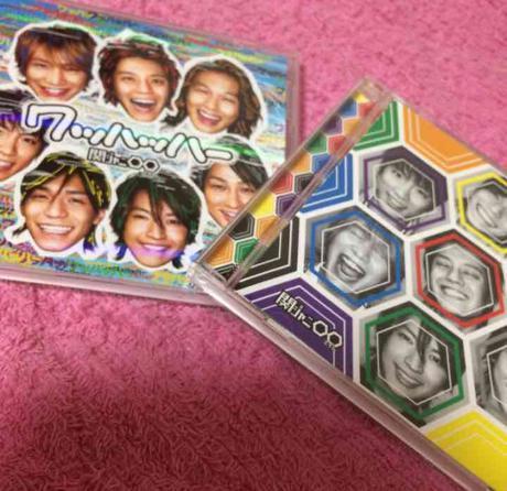 関ジャニ∞ エイト ワッハッハー CD A B リサイタルグッズの画像