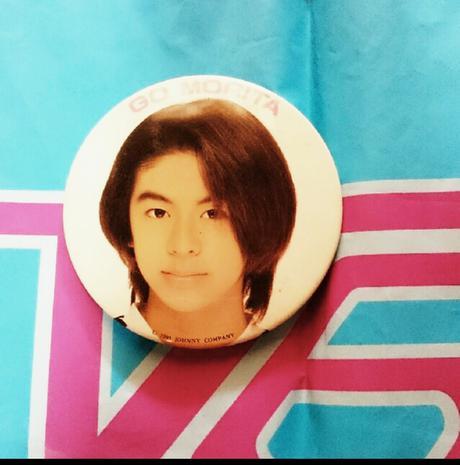 V6 森田剛 1995年 缶バッジ コンサートグッズの画像