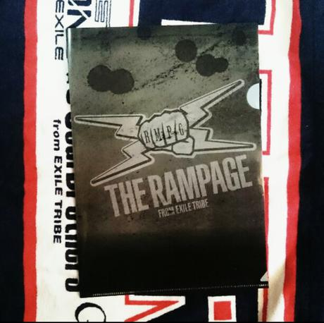 THE RANMPAGE fromEXILE TRIBE ライブグッズの画像