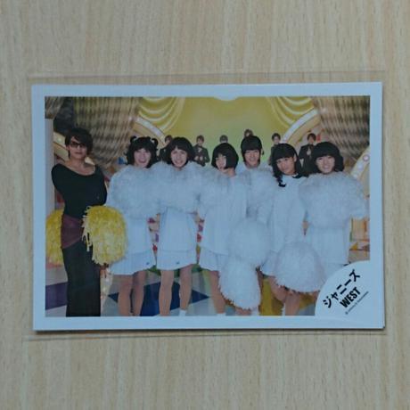 ジャニーズWEST 集合 ズンドコパラダイス 公式写真 コンサートグッズの画像