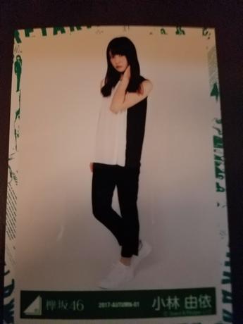 欅坂46 写真 小林さん ライブ・握手会グッズの画像