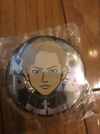 三代目 JSB 登坂広臣 缶バッジ モバイルブース限定 グッズの画像