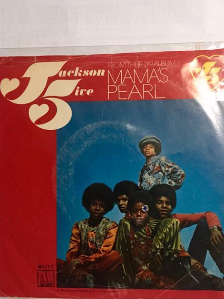 マイケルジャクソン☆ジャクソン5 MAMA'S PEARL EP盤☆ ライブグッズの画像