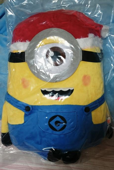 非売品ミニオンクリスマスぬいぐるみ52センチ1つ目 グッズの画像