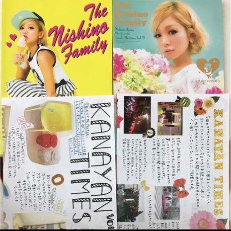西野カナ 会報 vol.8.9 カナヤンタイムズ ライブグッズの画像
