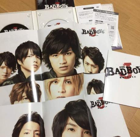 BAD BOYS J DVD 初回 グッズの画像