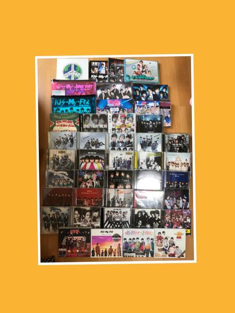 43点 キスマイ CD DVD グッズの画像