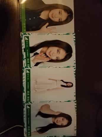 欅坂46 写真 鈴本さん 4枚 ライブ・握手会グッズの画像