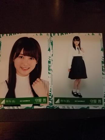 欅坂46 写真 守屋さん 2枚 ライブ・握手会グッズの画像