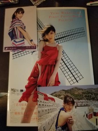 乃木坂46 若月さん写真集等 ライブ・握手会グッズの画像