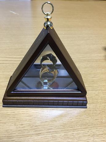 ハリーポッター コレクターボックス付き、ホークラックスリング グッズの画像