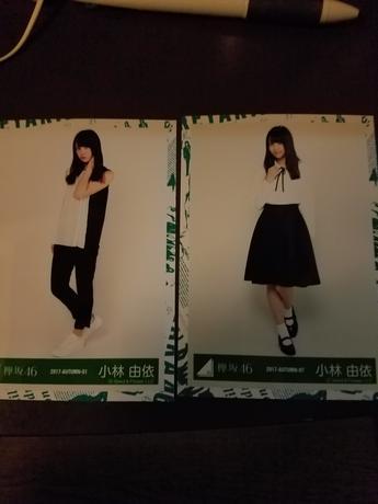 欅坂46 写真 2枚 小林さん グッズの画像