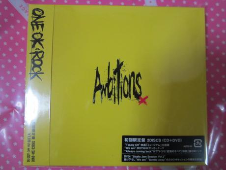 新品未開封 ONE OK ROCK 初回限定盤 Ambitions CD+DVD ライブグッズの画像