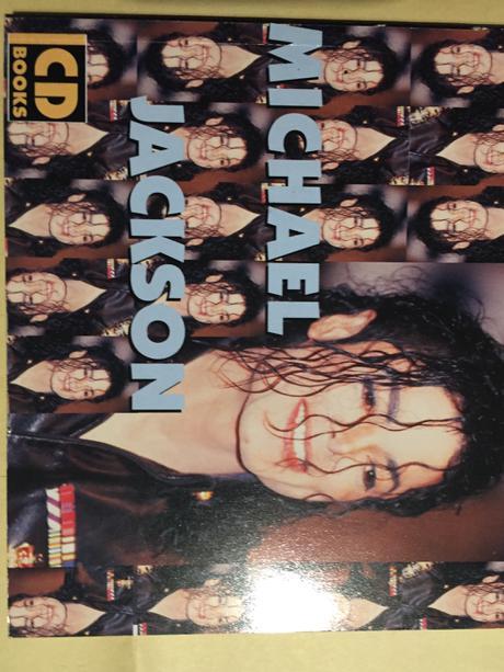 マイケルジャクソンCDフォトブック 洋書 ライブグッズの画像