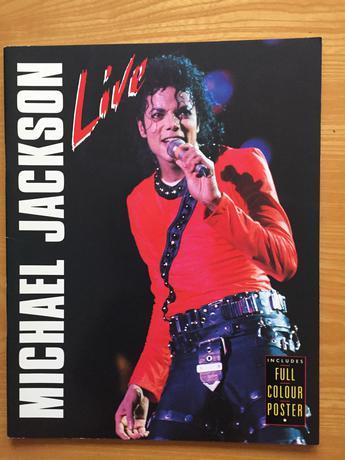 マイケルジャクソン BAD TOUR LIVE 写真集 洋書 ライブグッズの画像
