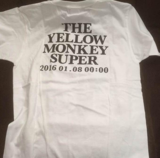 イエモン SUPER JAPAN TOUR 2016 ツアーTシャツ