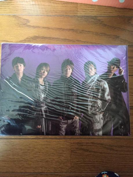 KAT-TUN クリアファイル コンサートグッズの画像
