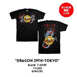 GUNS N' ROSES 来日公演での日本限定Tシャツ ライブグッズの画像