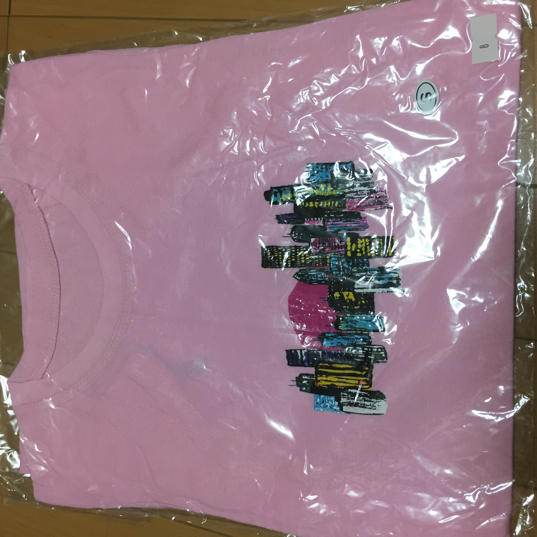 小沢健二  東京の街が奏でる Tシャツ ピンク レディース S