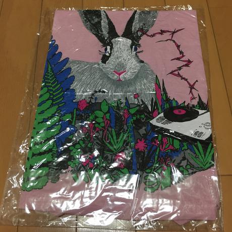 新品未開 小沢健二 ひふみよ Tシャツ うさぎ 月光  レディースフリー ピンク ライブグッズの画像