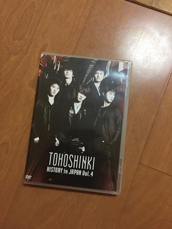 [値下げ]DVD★東方神起 HISTORY in JAPAN vol.4