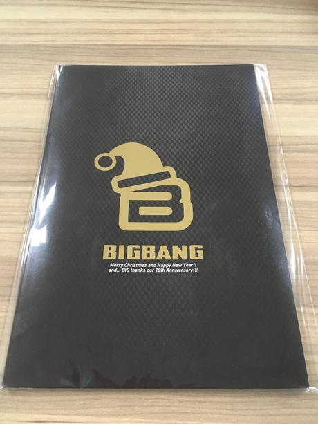 BIGBANG FC会員特典 クリスマスカード・オーナメント ライブグッズの画像