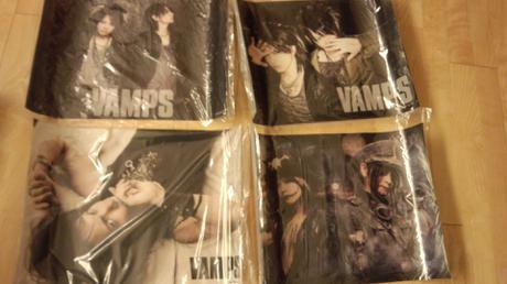 VAMPSクリアポスター4枚セット ライブグッズの画像